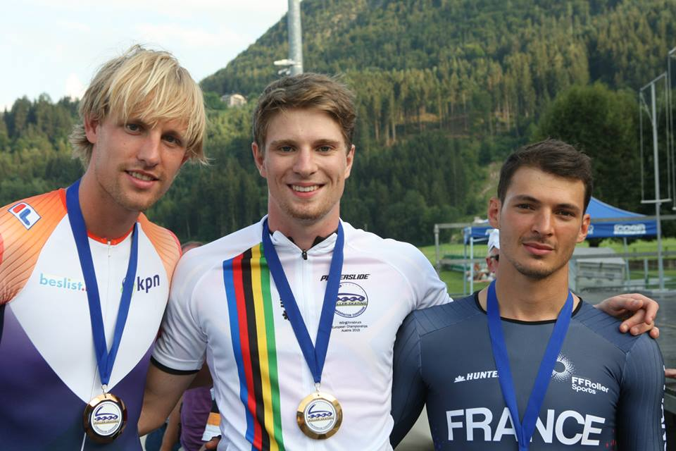 podium_300m_senior_homme_championnat_europe_roller_course_2015