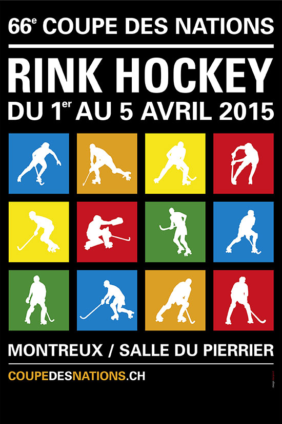 Affiche de la Coupe des nations de RInk Hockey 2015